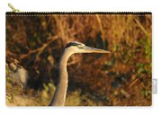 Handsome Heron Carry-all Pouch