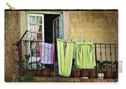 Hanged Clothes Carry-all Pouch by Carlos Caetano