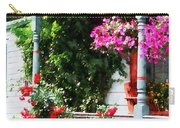 Hanging Baskets And Climbing Roses Carry-all Pouch