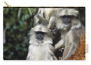 Hanuman Langur Semnopithecus Entellus Carry-all Pouch