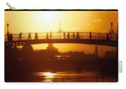 Hapenny Bridge Over River Liffey River Carry-all Pouch