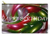 Happy Birthday - Balloons Carry-all Pouch by Kaye Menner