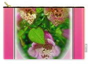 Happy Birthday Card - Foxgloves Carry-all Pouch