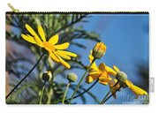 Happy Daisies Carry-all Pouch by Kaye Menner