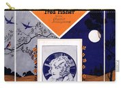 Happy Days And Lonely Nights Carry-all Pouch by Mel Thompson