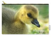 Happy Easter Gosling Carry-all Pouch