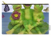 Happy Frogs Carry-all Pouch