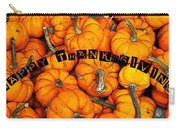 Happy Thanksgiving Art Carry-all Pouch