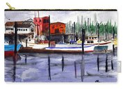 Harbor Fishing Boats Carry-all Pouch