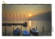 Harbor On A Foggy Lake Carry-all Pouch