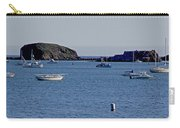 Harbor On The California Coast Carry-all Pouch