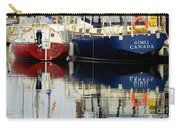 Harbor Reflections  Carry-all Pouch by Bob Christopher