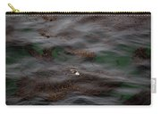 Harbor Seal In Kelp Bed Carry-all Pouch