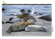 Harbor Seal Phoca Vitulina Mother Carry-all Pouch