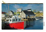 Harbour Mist In Peggy's Cove No 103 Carry-all Pouch