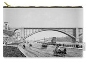Harlem River Speedway Scene Beneath The George Washington Bridge Carry-all Pouch