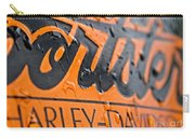 Harley Davidson Logo Carry-all Pouch