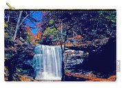 Harrison Wright Falls In Fall Carry-all Pouch