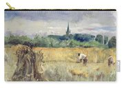 Harvest Field At Stratford Upon Avon Carry-all Pouch