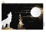 Harvest Moon And Coyote 2 Carry-all Pouch