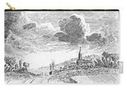 Harvesting, 18th Century Carry-all Pouch