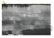 Haukkajarvi Water Lilies In Bw Carry-all Pouch