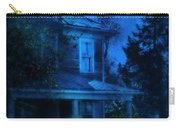 Haunted House Full Moon Carry-all Pouch by Jill Battaglia