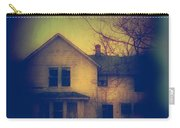 Haunted House Carry-all Pouch by Jill Battaglia