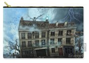 Haunted House Carry-all Pouch by Jutta Maria Pusl
