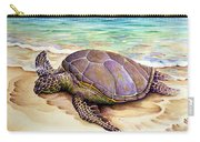 Hawaiian Green Turtle Carry-all Pouch