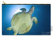 Hawksbill Sea Turtle Belly, Australia Carry-all Pouch