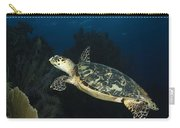 Hawksbill Sea Turtle Swimming Carry-all Pouch