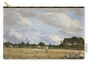 Haymaking Carry-all Pouch by Eugene Louis Boudin
