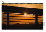 Hazy Summer Sunset Carry-all Pouch