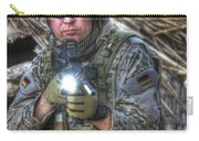 Hdr Image Of A German Army Soldier Carry-all Pouch
