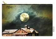 Hdr Moon And Barn Carry-all Pouch