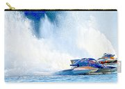 Hdr Pano Thunder On The Lake Carry-all Pouch