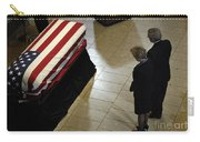 He Casket Of Former President Gerald R Carry-all Pouch