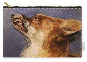 Head Of A Fox Carry-all Pouch