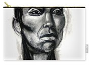 Head Study Carry-all Pouch by Gabrielle Wilson-Sealy