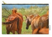 Heading Home Painterly Carry-all Pouch