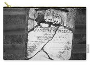Headstone Of Lafayette Meeks Carry-all Pouch by Teresa Mucha