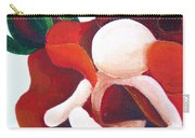 Healing Painting Baby Sitting In A Rose Detail Carry-all Pouch