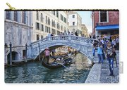 Heart In Venice Carry-all Pouch
