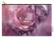 Heart Of A Rose - Mauve Purple Carry-all Pouch
