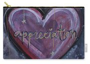 Heart Of Appreciation Carry-all Pouch