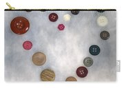 Heart Of Buttons Carry-all Pouch