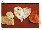 Heart Shaped Leaves Carry-all Pouch