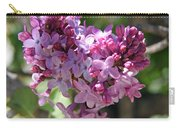 Heart Shaped Lilac Carry-all Pouch