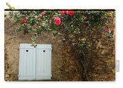 Heart Shutters And Red Roses Carry-all Pouch
